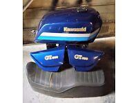 """""""Classic"""" Kawasaki GT550 - Fuel Tank, Seat & Side Panels"""