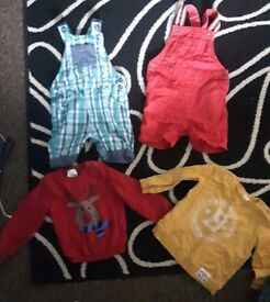 Few 12-18 months old boy clothes