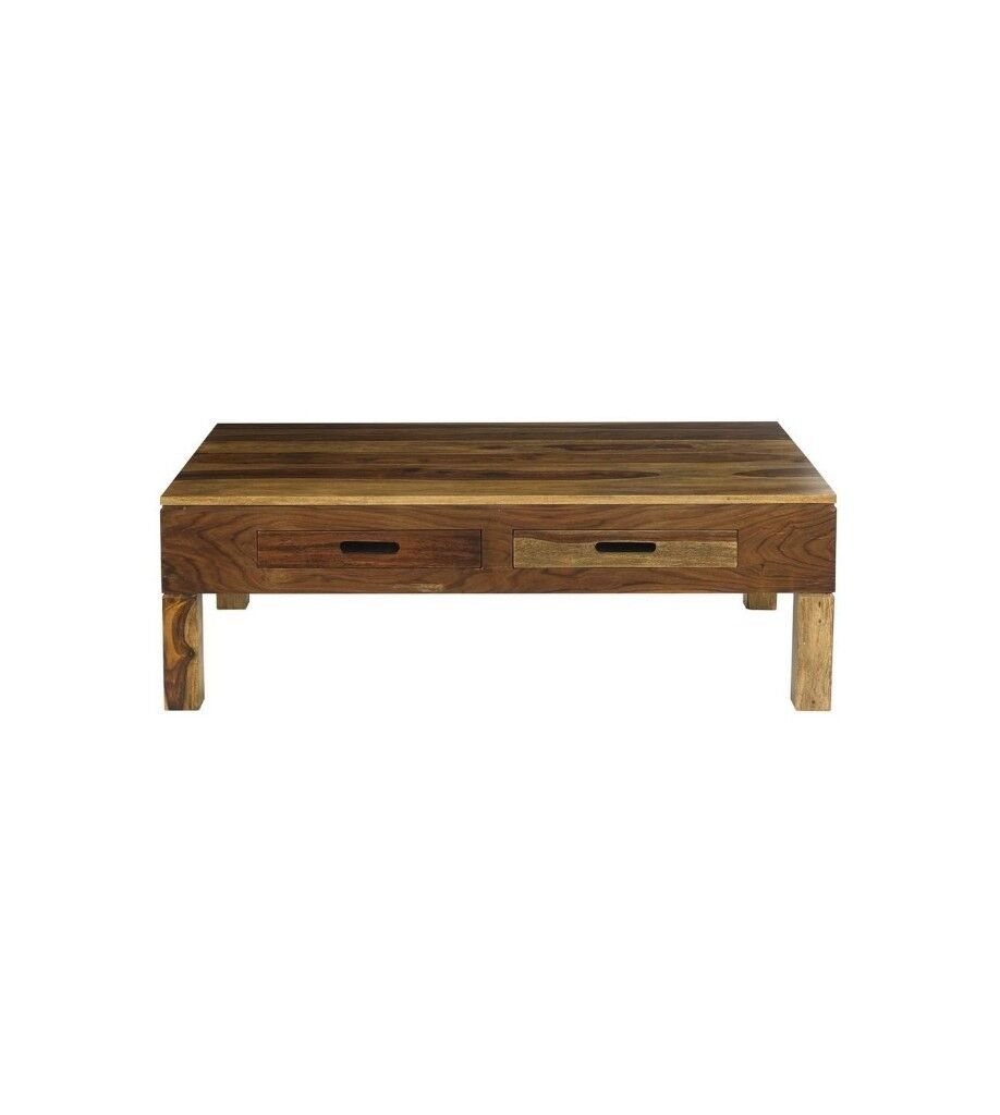 Brand New Large 4 Storage Drawers Coffee Table