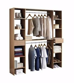 Brand New Bedroom No Door Drawers With Multiple Unit and Rails Solution Open Shelf Storage