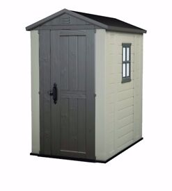 keter 6 x 4 plasticresin shed still in the box delivery possible
