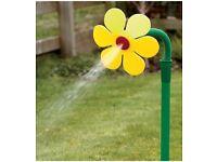 Dancing flower sprinkler