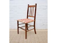 Old Vintage Side Dining Chair