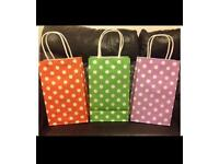 Luxury gift bags/party bags with handles (1 pack/10 bags)