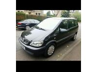 Vauxhall Zafira, excellent condition and running smoothly