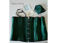 Ladies underbust corset, with matching thong BNWT (2)