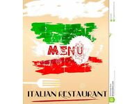 WAITRESS / WAITER AND BARTENDER REQUIRED - ITALIAN RESTAURANT IN W2