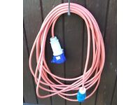 Mains Electric Hook Up Cable