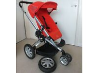 Quinny Buzz Xtra Pushchair in Red Rumour