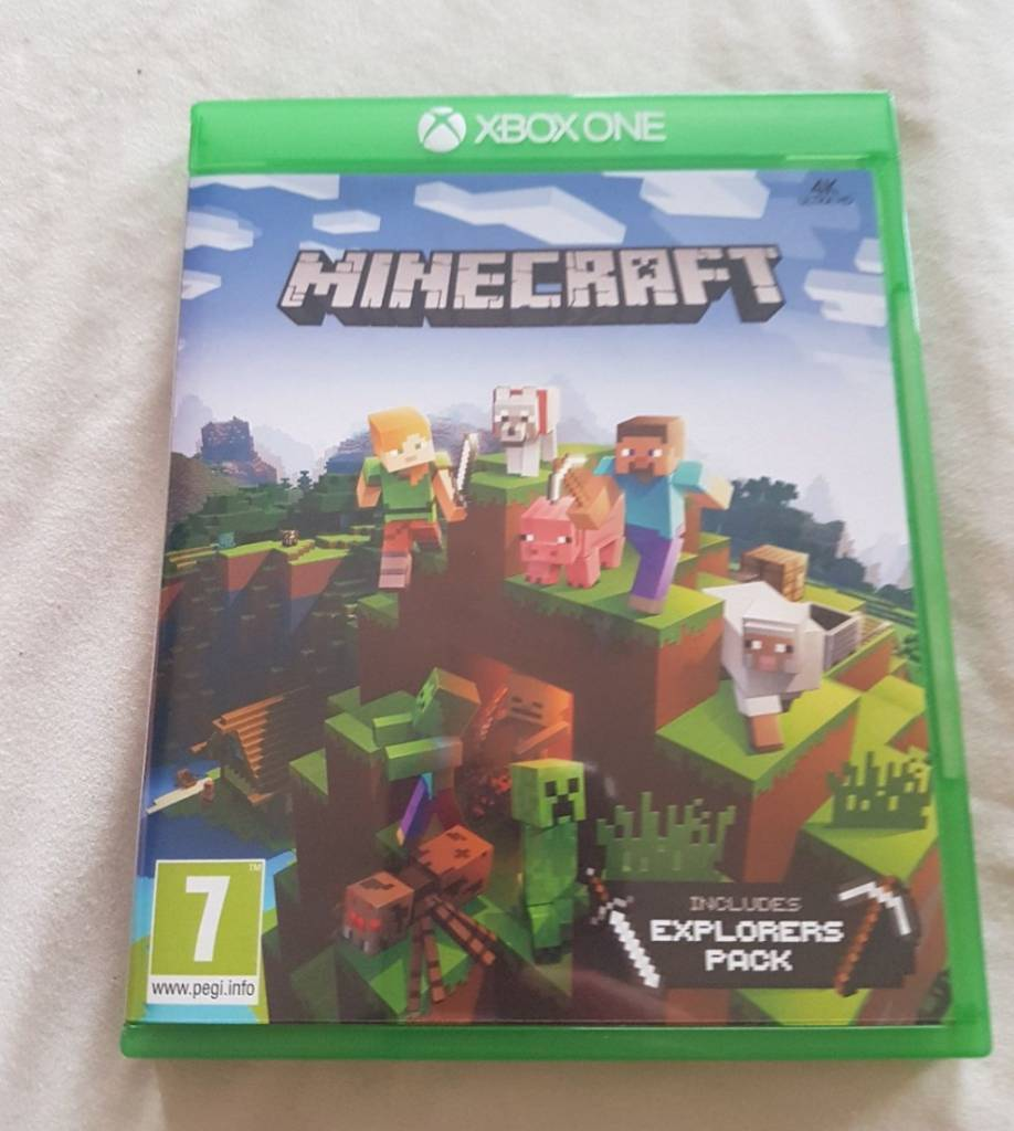 Minecraft Xbox one game