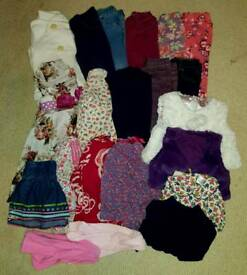 Bundle of girls clothes age 1-2 years