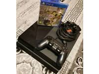 Sony Playstation 4 PS4 500GB 1 Game original controller and wires