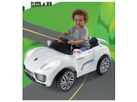 Brand New Porsche Ride On 12V Electric Car Power Wheels Children Toys Gift Year 3+