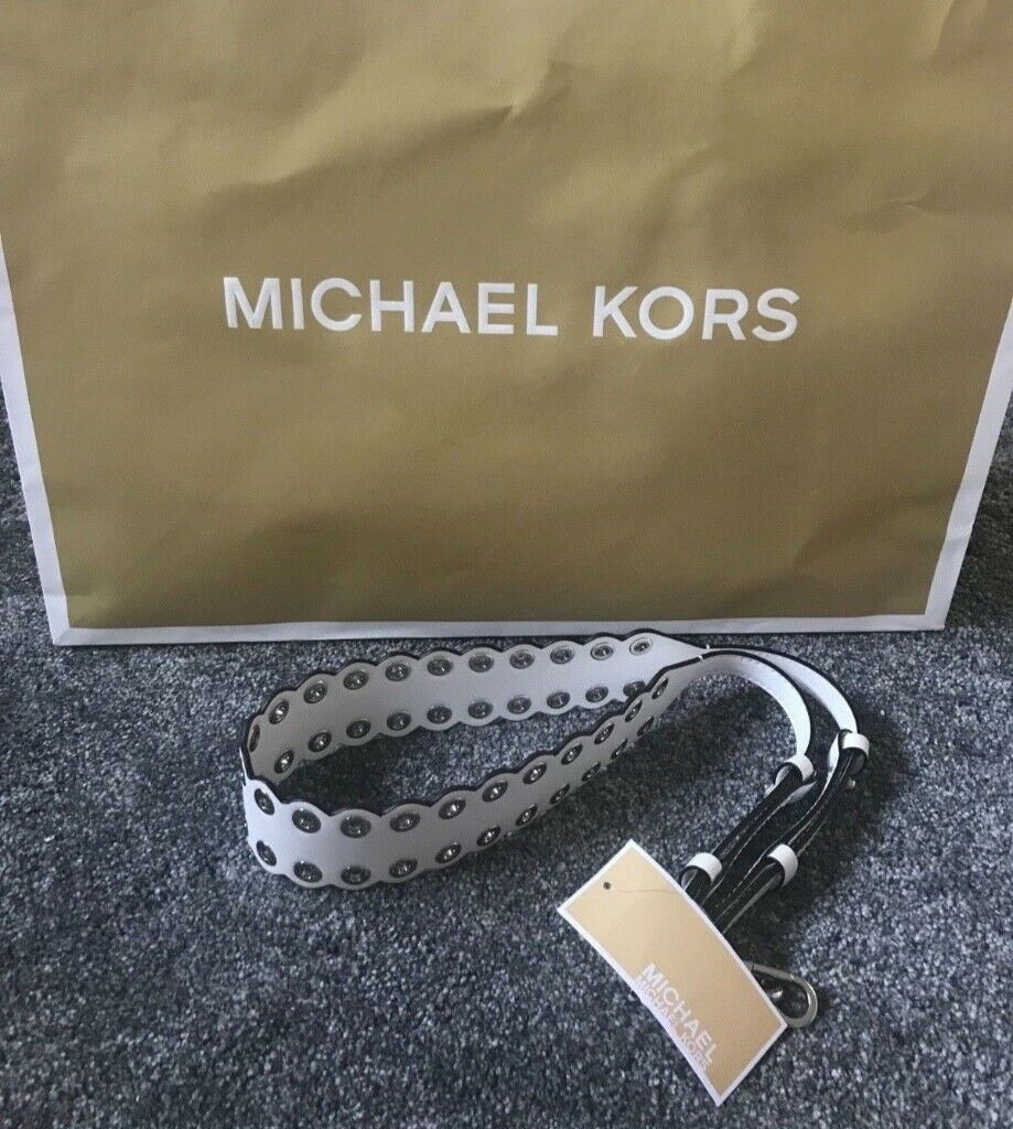 5353d4ad692993 Michael Kors Leather Guitar Bag Strap - Brand New with Tags