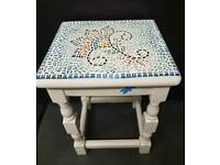 Small Unique Mosaic Patio table