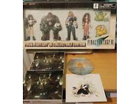Original Final Fantasy 7 Figure & CD Set ( FF7 FFVII Japan Import 1997 Complete Bandai Digicube )