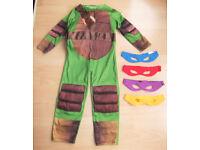 Teenage Mutant Ninja Turtles TMNT Childrens Fancy Dress Outfit - Age 5-6 years