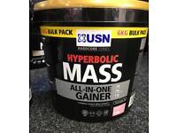 Mass gainer protein powders supplements