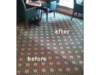Carpet & Upholstery cleaning Professional operatives, fully insured, excellent rates quality assured