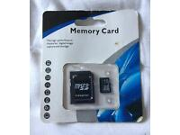 Brand New 32gb Memory Card with Micro Adapter WILL POST