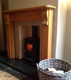 Pine Fire Surround - Focus Fireplaces / Canadian pine