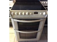 Hotpoint 60cm Ceramic Electric Double Oven with Warranty