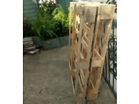 2 free wooden pallets available for pick up materials building diy