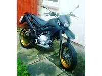 Yamaha xt 125 x supermoto supermotard