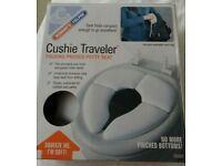 Cushie Traveler Folding Padded Potty Seat