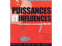 Puissances et influences. Annuaire géopolitique et géostratégique 2000-2001