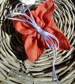 Handmade Small Drawstring Fabric Gift Pouch