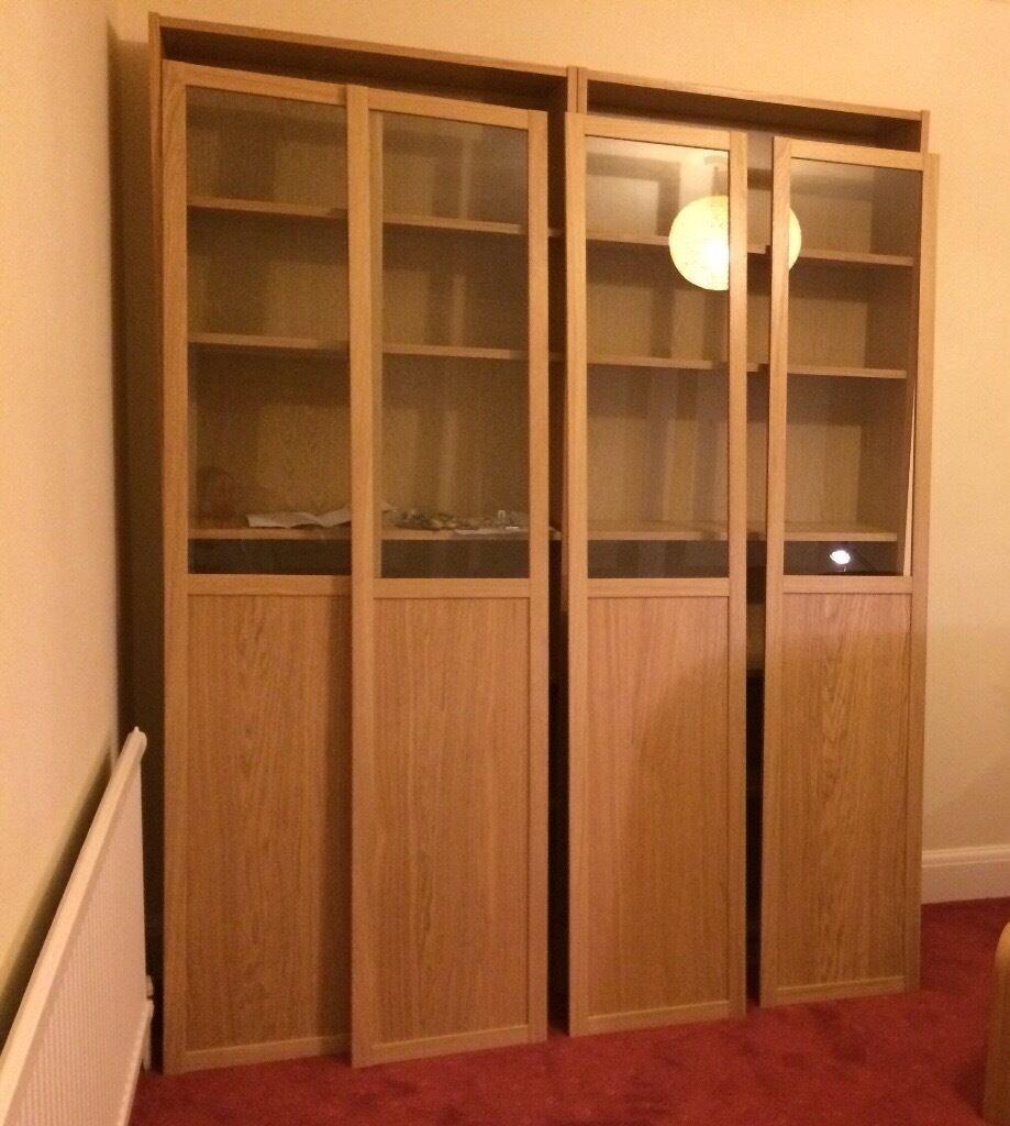 billy oxberg bookcase ikea in royston cambridgeshire gumtree. Black Bedroom Furniture Sets. Home Design Ideas