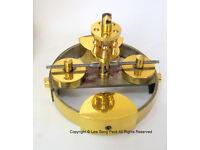 WANTED: Compensating Pendulum Disc & Top Block to Philip Hauck anniversary clock 400 day