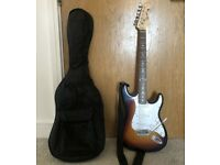 Fender Squier STYLE Spider Stratocaster Strat Electric Guitar.