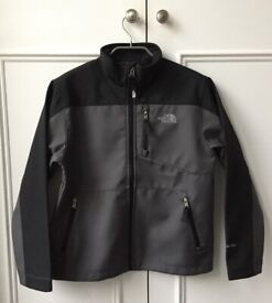 North Face Lightweight Jacket with Fleece Lining, Boys 10-12, Like New