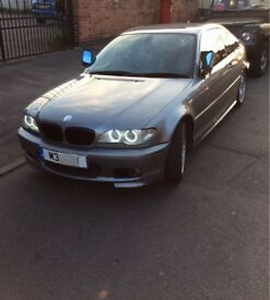 BMW E46 COUPE 320CD DIESEL 2004 MSPORT REDUCED £2495