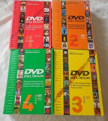 DVD Delirium 4 Book Set #1, #2, #3, & #4 RARE RED #1 2006 Redux