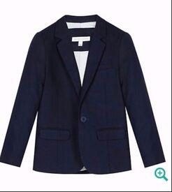Boys, Rjr John rocha navy blue linen suit.(age13)