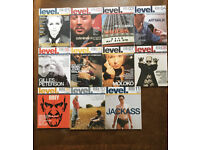Level magazine - all 11 issues