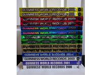 Guinness World Record Books. 00/01/03-09