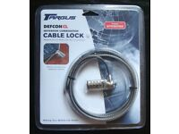 Targus 'Defcon CL' Notebook Combination Cable Lock (new)