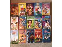 Bundle of approx 25 VHS kids videos.