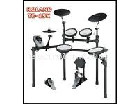 ROLAND TD-15K vdrums electronic drum kit & pedal NICE kit lovely!