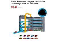 Micro machines play set brand new no box