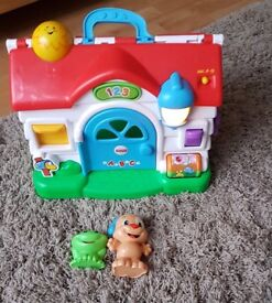 Fisher price musical house for sale