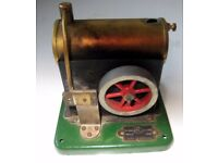 Miniature Steam Engine with fuel box