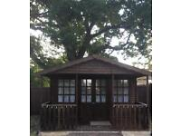 Summer House 14ft by 12ft with Veranda