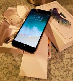 iPhone 6S Plus 16gb silver unlocked boxed