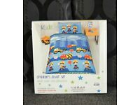 MEN At WORK SINGLE DUVET SET