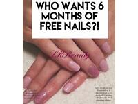 Nail technician with available appointments